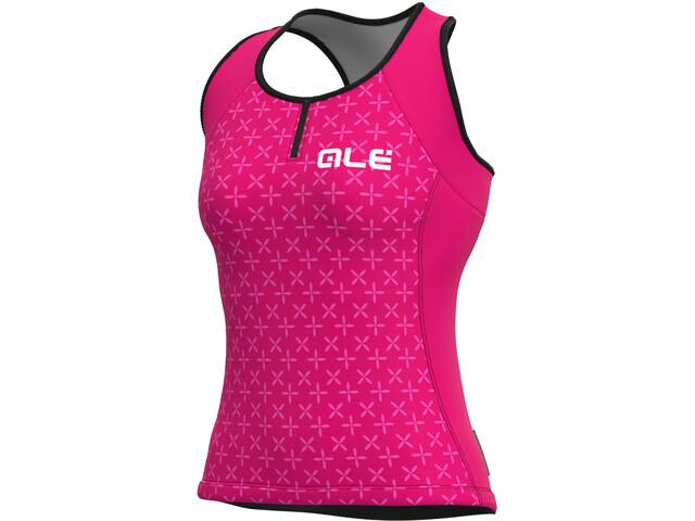 Alé Cycling Solid Helios Tank Top Women, fluo magenta